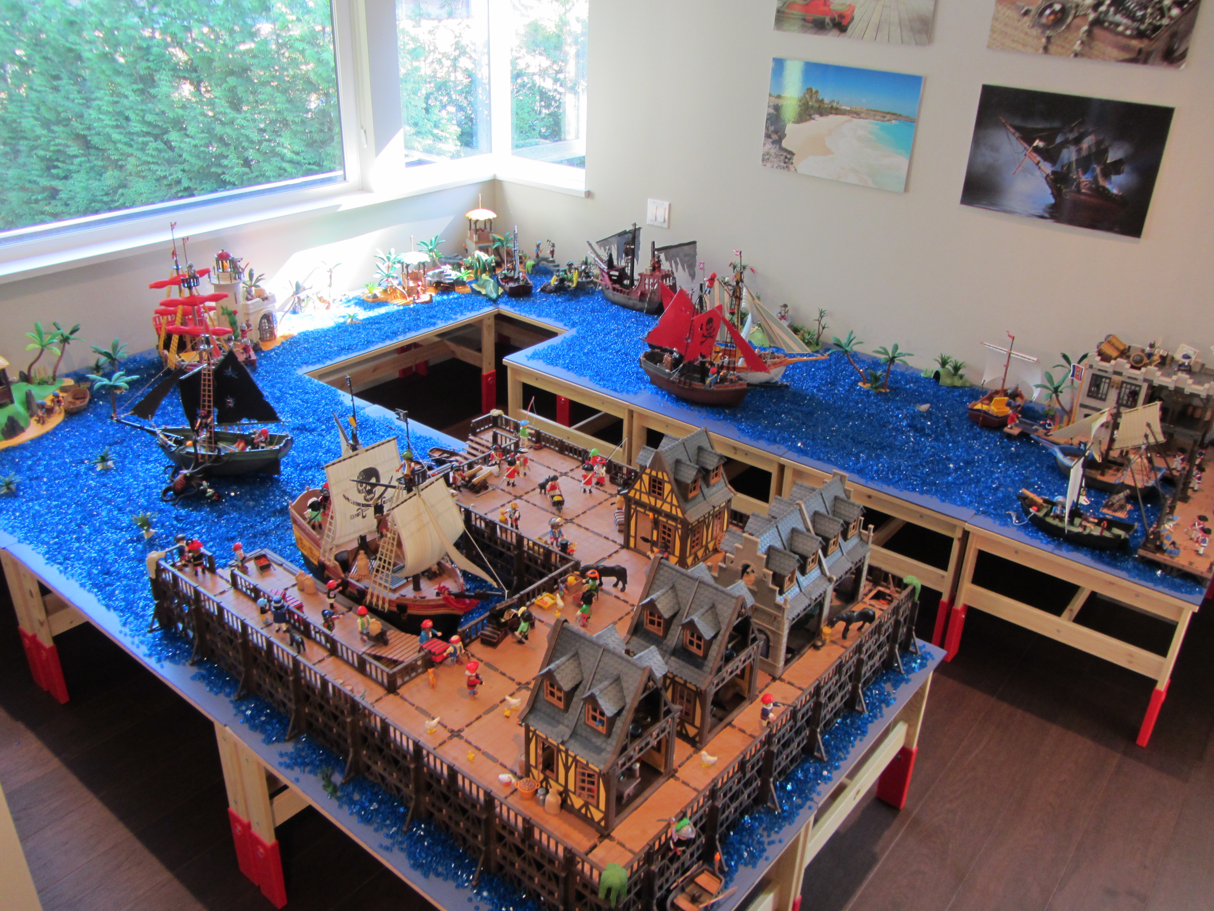 Building project gallery overview of playmobil play worlds Table playmobil