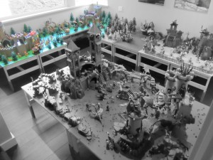 Building Project Gallery: Dragonland Play World – Lion and Falcon Knights Battle